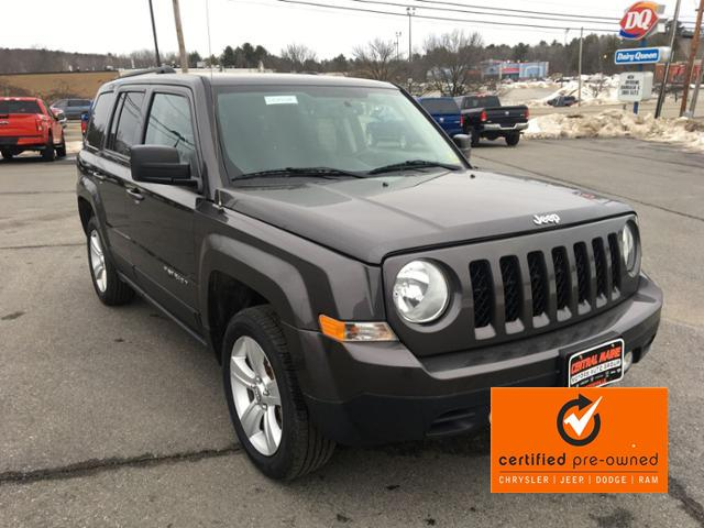 Certified Pre-Owned 2016 Jeep Patriot 4WD 4dr High Altitude Edition