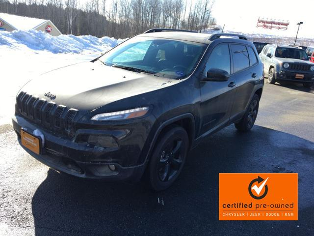 Certified Pre-Owned 2017 Jeep Cherokee High Altitude 4x4 *Ltd Avail*