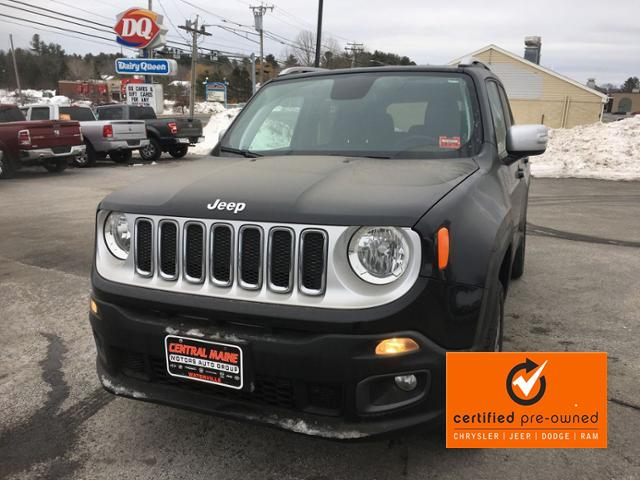 Certified Pre-Owned 2018 Jeep Renegade Limited 4x4