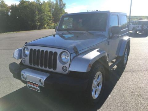 Pre-Owned 2014 Jeep Wrangler 4WD 2dr Sahara
