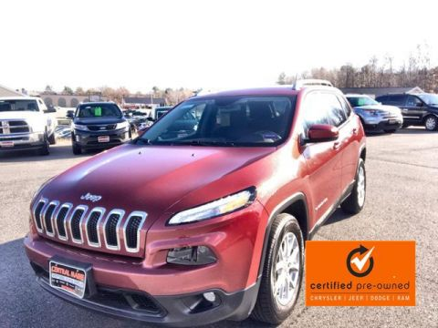 Certified Pre-Owned 2016 Jeep Cherokee 4WD 4dr Latitude