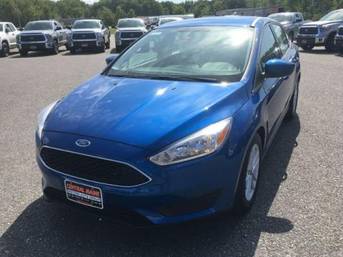 Pre-Owned 2018 Ford Focus SE Sedan