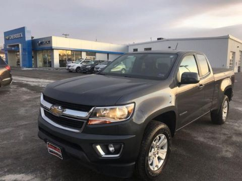 Pre-Owned 2017 Chevrolet Colorado 4WD Ext Cab 128.3 LT