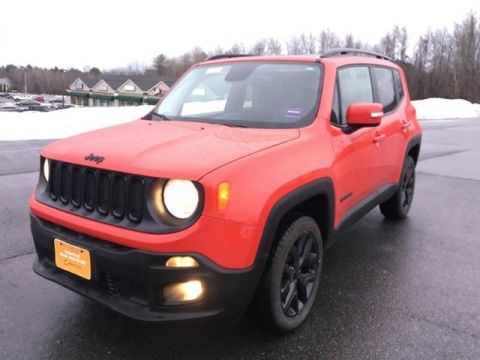 Certified Pre-Owned 2017 Jeep Renegade Altitude 4x4
