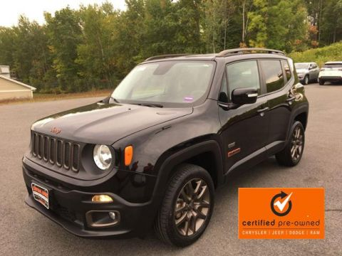 Certified Pre-Owned 2016 Jeep Renegade 4WD 4dr 75th Anniversary